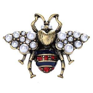 large big bee bug adjustable one size ring